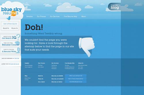 35+ Creative 404 Error Page Designs 10
