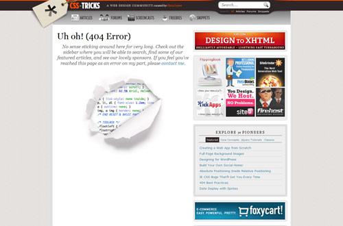 35+ Creative 404 Error Page Designs 11