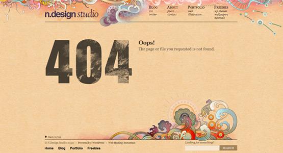 35+ Creative 404 Error Page Designs 16