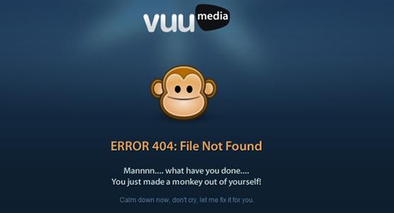 35+ Creative 404 Error Page Designs 18