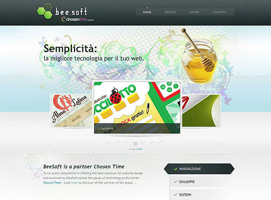 30+ Beautiful DIV/CSS Web Designs 18
