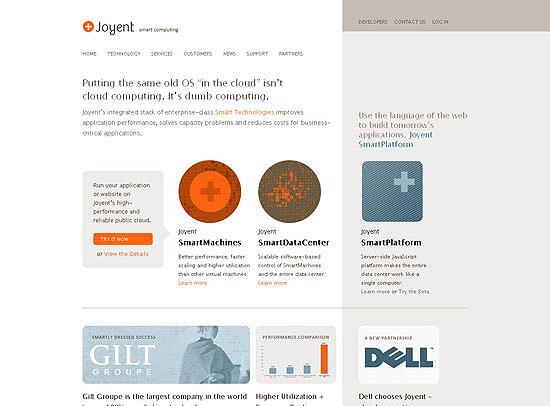 30+ Beautiful DIV/CSS Web Designs 3