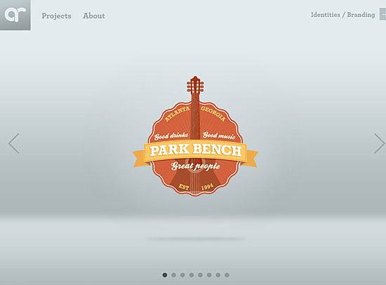 30+ Beautiful DIV/CSS Web Designs 5