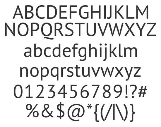 28 High Quality Fresh Free Fonts 1