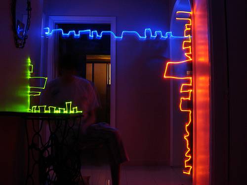 40+ Awesome Light Graffiti Pictures 27