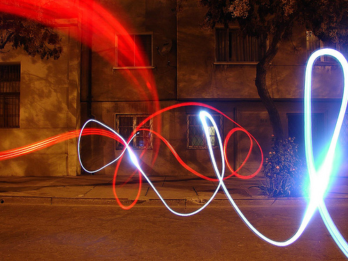 40+ Awesome Light Graffiti Pictures 38