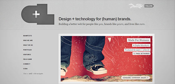 50+ Beautiful Single Page Website Designs For Your Inspiration 12