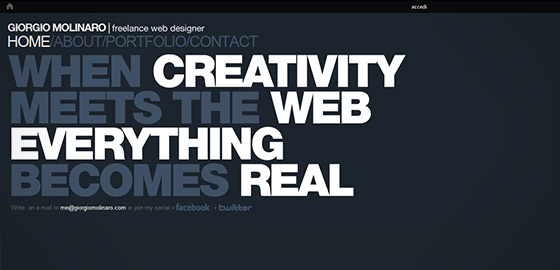 50+ Beautiful Single Page Website Designs For Your Inspiration 20