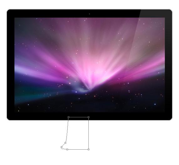 Create a Realistic Apple LED Cinema Display in Photoshop 11