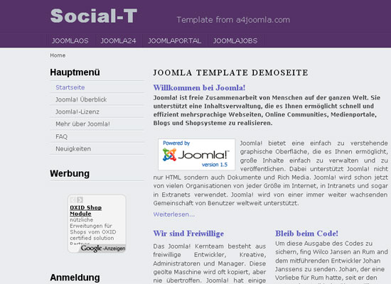 30 Free Joomla Website Themes Collection 13