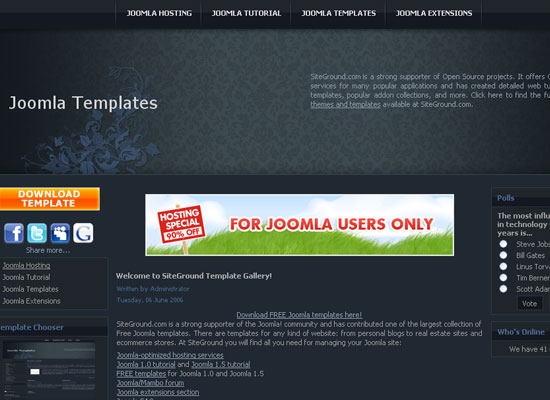 30 Free Joomla Website Themes Collection 4