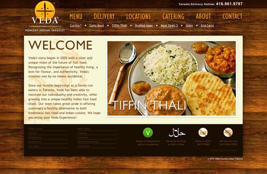 Showcase of Beautiful Restaurant Websites 18