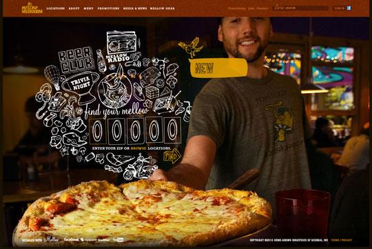 Showcase of Beautiful Restaurant Websites 23