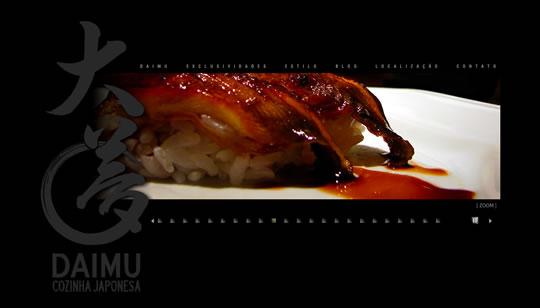Showcase of Beautiful Restaurant Websites 34