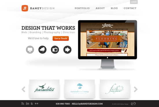 35 Beautiful DIV/CSS Web Designs For Your Inspiration 16