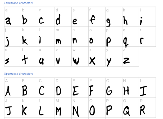 20+ Most Amazing Free Handwritten Fonts for Web designers 1