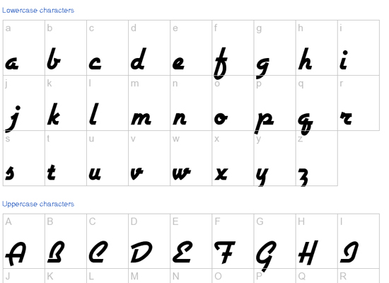 20+ Most Amazing Free Handwritten Fonts for Web designers 10