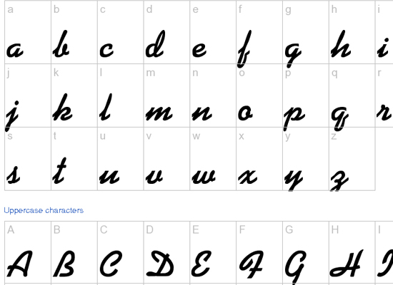 20+ Most Amazing Free Handwritten Fonts for Web designers 13