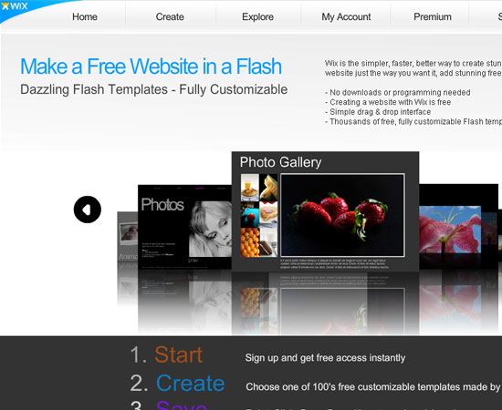 20 Useful Resources to Make your own Website for Free 9