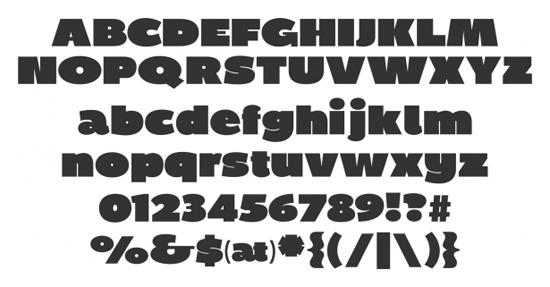 Free Sans Serif Fonts Ultimate Collection Part 1 6