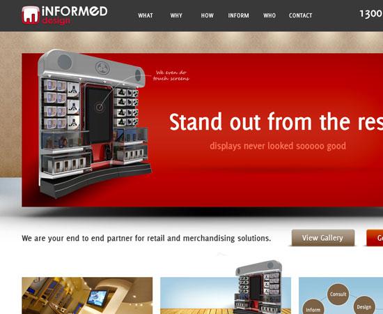 Fresh Beautiful and Inspirational Web Design Interfaces 5