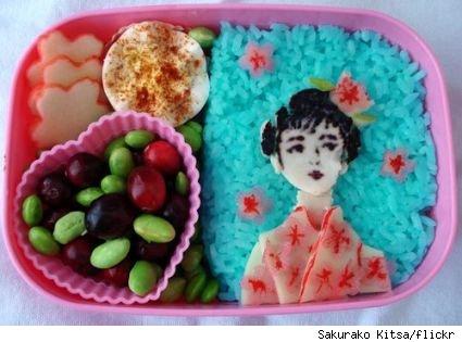 20+ Creative and Interesting Bento Box Art 13