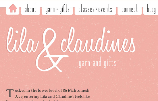 Beautiful Navigation Menu Style with Website Color Combination 15