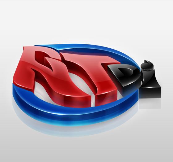 25 Spectacular Creative 3D Logos from Deviant Art 16