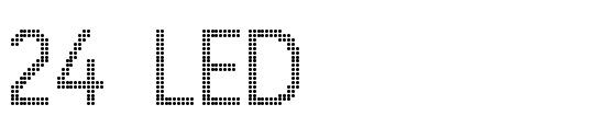 20 Best Useful Digital Fonts for LED Banner Designing 19