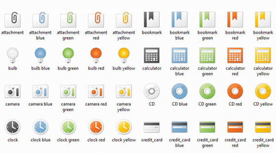 20 Beautiful Free Icon Sets for Designers 14