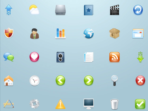 20 Beautiful Free Icon Sets for Designers 15