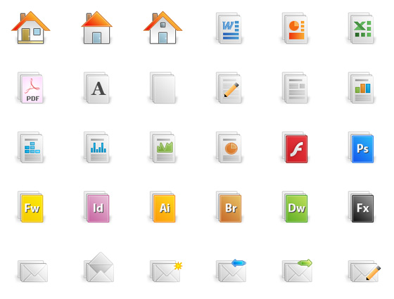 20 Beautiful Free Icon Sets for Designers 2
