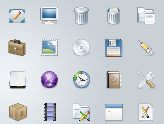 20 Beautiful Free Icon Sets for Designers 3