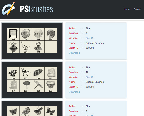20 Amazing High Quality Photoshop Brush Directories for Designers 14