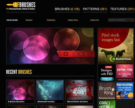 20 Amazing High Quality Photoshop Brush Directories for Designers 2