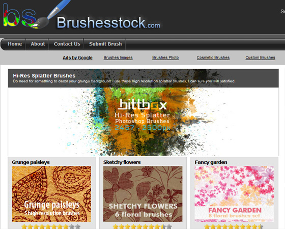 20 Amazing High Quality Photoshop Brush Directories for Designers 4