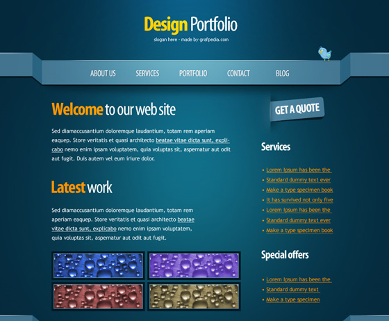 20 Most Useful Photoshop Tutorial to Create High Quality Web Design Layout 6