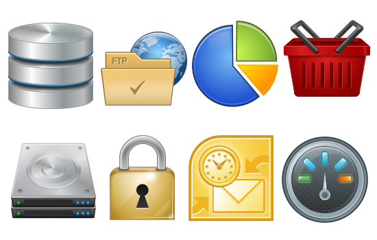 10 Most Useful and Beautiful Free Icon Set for Web Designers 1