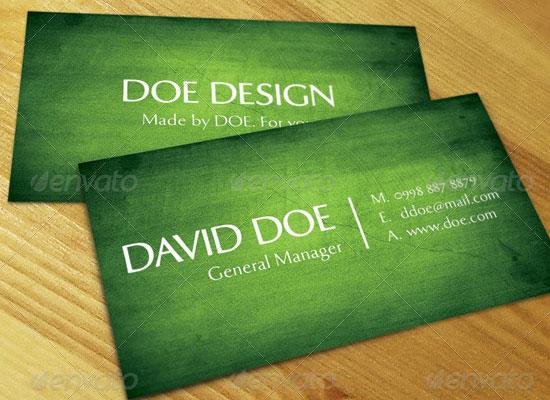 20 Excellent Premium Business Card Design Resources 5