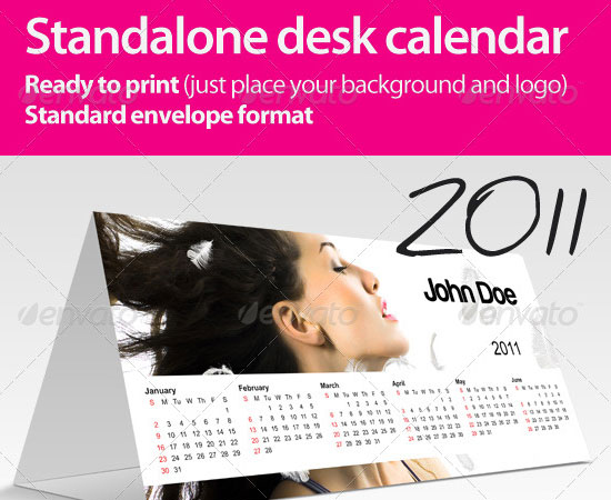 20 Beautiful and Useful Premium Calendar Resources with PSD/EPS File 7