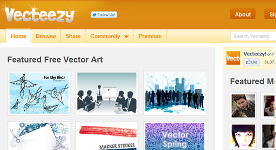 Free Photoshop and Vector Resources for Designers 10
