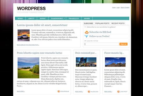 20 Beautiful Wordpress Themes for Free Download 15