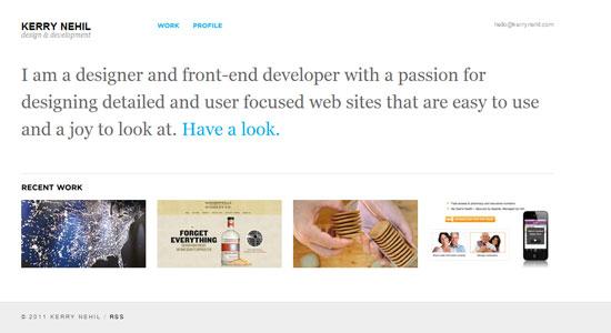 30 Creative Portfolio Designs to Inspire Designers 22