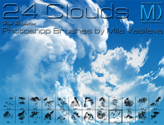 20 Free Useful Water and Cloud Brushes resource for Photoshop Users 10