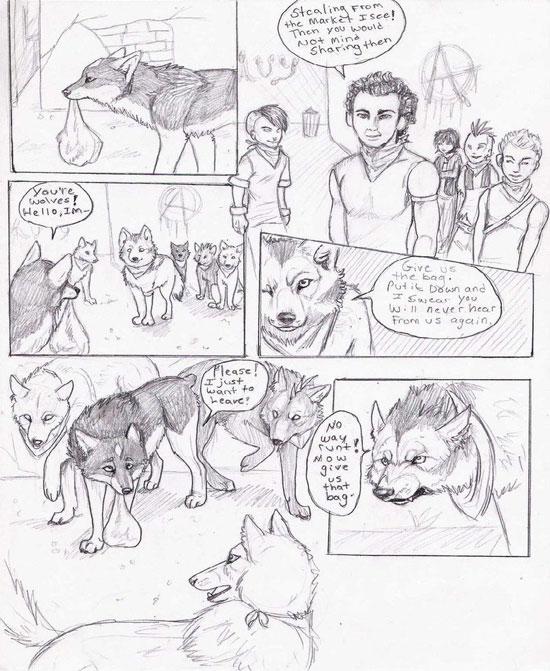 Monday Mania #1: Beautiful Story in Comic Art Sketch-1 1