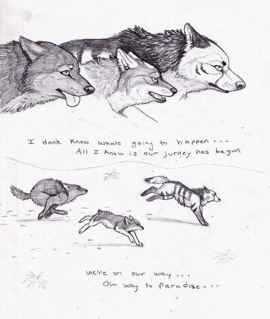 Monday Mania #1: Beautiful Story in Comic Art Sketch-1 8