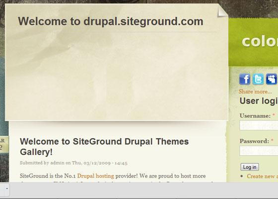 20 Beautiful and Creative Free Drupal Themes 4