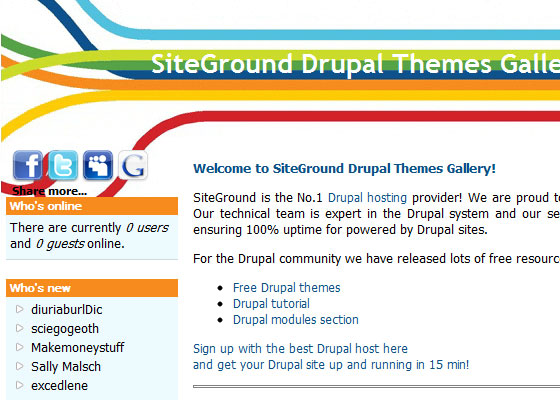 20 Beautiful and Creative Free Drupal Themes 5