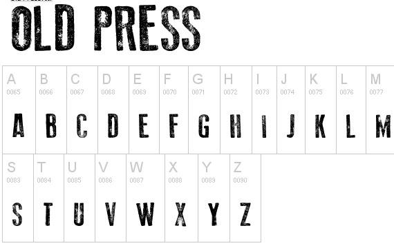 20 Useful Grunge Free Fonts for Web Designers 12
