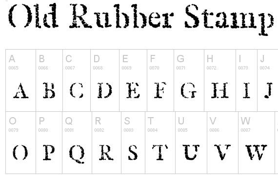 20 Useful Grunge Free Fonts for Web Designers 16